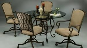 kitchen table and chairs with casters splendid tables chairs casters small casters for sale vintage chair