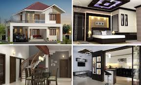 two story house designs modern story house design with interior views archishere