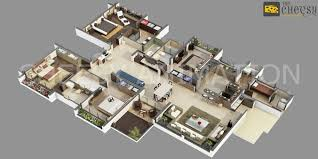 3d floor plan services animated 3d floor plan design services usa cgtrader