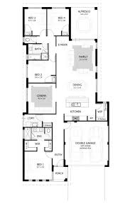 narrow lot house plans narrow lot single storey homes perth cottage home designs