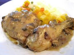 cuisiner une cuisse de dinde en cocotte cuisses de poulet au cidre recette