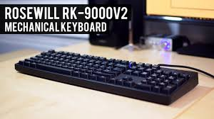 mechanical keyboard amazon black friday deals rosewill rk 9000v2 mechanical keyboard cherry mx brown budget
