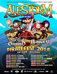 Scottish Pirate Flag Alestorm Oh Wow