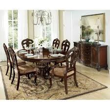 7 pc dining room set dining room dining room sets deryn park 2243 7 pc dining set at