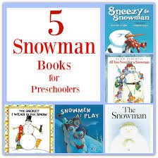 best snowman books for preschoolers