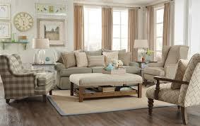 Paula Deen Chairs Paula Deen By Craftmaster P997000 Loose Pillow Back Sofa With