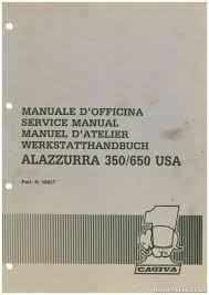 1985 1986 1987 cagiva alazzurra 350 650 motorcycle service manual