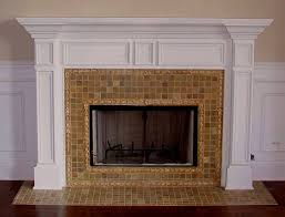 Paint Tile Fireplace by 42 Best Fireplaces Images On Pinterest Fireplace Ideas