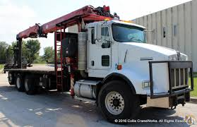 buy used kenworth fassi f390se 24 wallboard crane mounted to 2005 kenworth t800