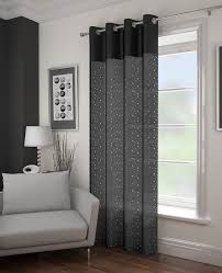 Glitter Curtains Ready Made Glitz Black Voile Panel From Net Curtains Direct Available In