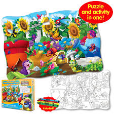 buy the learning journey puzzle doubles giant backyard bugs