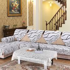 housse de canap noir 1 pcs housse de canapé noir et blanc é couverture pour canapé