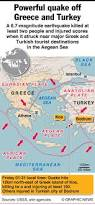 Greece Turkey Map by Earthquake Sparks Tsunami Off Greek Islands And Turkey Turkish