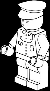 lego clipart policeman pencil and in color lego clipart policeman