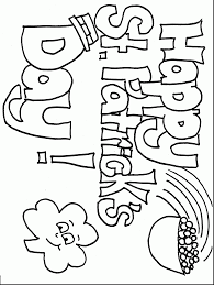 st patrick coloring pages alphabrainsz net