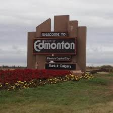 Edmonton Memes - edmonton declared city of shenanigans speed traps in sign prank