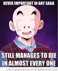 Krillin Meme - bad luck krillin meme by eggosteggo memedroid