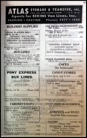 1947 las vegas classified directory over50vegas com