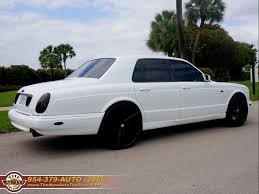 bentley azure white 2001 bentley arnage red label custom