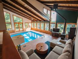 swimming pool room posh life a swimming pool in the living room living room realty