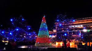 wars tree light show