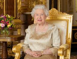 official portrait of queen elizabeth on the occasion of the 150th