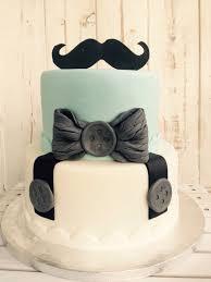 baby shower cake for a boy mustache baby party torte für jungs