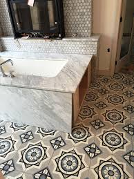 Oak Express Corpus Christi by This Bathroom Cement Tile Floor Is In Progress In Corpus Christi