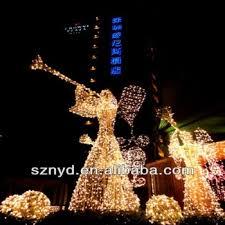 lighted angel christmas decoration christmas light 3d led lighted angel outdoor christmas decorations