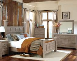 american freight panel poster bed oak finish concrete tops stonehill bedroom