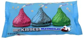 hershey s kisses pastel colors easter 8 5oz blaircandy