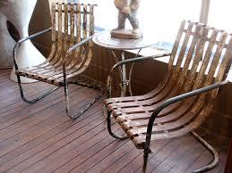retro outdoor furniture styles backyard landscape design