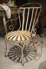 Antique Metal Patio Chairs Metal Patio Chairs Foter