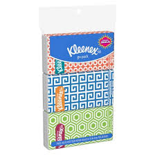 kleenex tissues go pack 3 pack 10 count pocket pack target