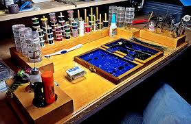 Oasis Fly Tying Benches How To Make A Fly Tying Bench Part 35 Fly Tying Room Home