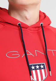 gant outlet store swindon gant hoodie bright red men outlet