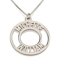 Personalized Sterling Silver Necklace 14 Best Sterling Silver Necklaces Images On Pinterest Name