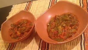cuisiner le poivron vert tomate et poivron vert à la marocaine taktouka à l huile d olive