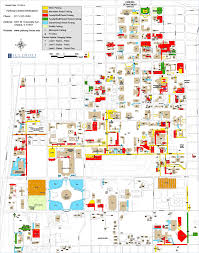 Illinois Map Of Cities by Campus Parking Map Parking Department Illinois