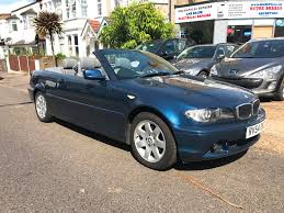 used bmw 3 series convertible for sale motors co uk