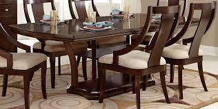 homelegance aubriella pedestal dining set cherry 5115 dining set