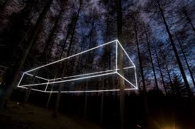 light installations by nathaniel rackowe robotspacebrain