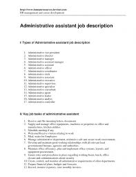 resume format administration manager job profiles office assistant job description resume resume template free
