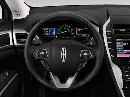 lincoln jeep 2016 image 2016 lincoln mkz 4 door sedan hybrid fwd steering wheel