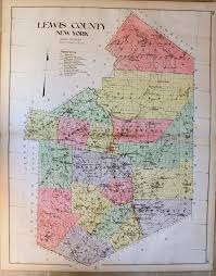 Southampton New York Map by Lewis County New York Antique Maps And Charts U2013 Original
