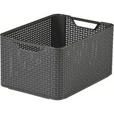 plastic rattan baskets u0026 boxes plastic box shop