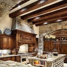 Old World Kitchen Design Ideas by Decorating Ideas Splendid Design Ideas Using Ceiling Beam And