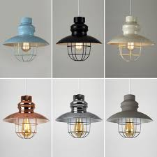 industrial style lighting vintage industrial style metal fishermans cage ceiling pendant