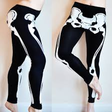Plus Size Skeleton Leggings Best Dia De Los Muertos Skeletons Products On Wanelo