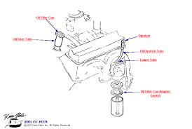 keen corvette 1964 corvette filler filter dipstick parts parts